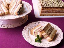 Ciasto miodowe z makową wkładką