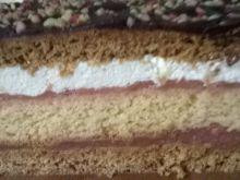 Ciasto miodowo-biszkoptowe