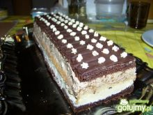 Ciasto mleczno - orzechowe