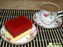 Ciasto mocno truskawkowe