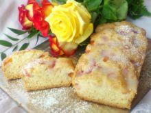 Ciasto na białkach z brzoskwiniami Di