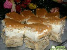 Ciasto na krakersach z bananami
