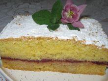 Ciasto na oleju z powidłami