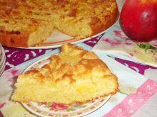 Ciasto na śmietanie z jabłkami