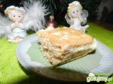Ciasto na zimno na krakersach.