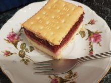 Ciasto na zimno z musem śliwkowym