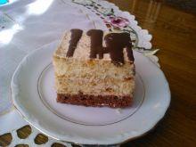 Ciasto orzechowe biszkoptowe