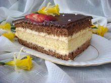 Ciasto orzechowe na waflu