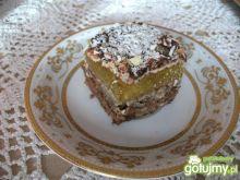 Ciasto orzechowe z galaretką