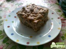 Ciasto orzechowe z jabłkami 3