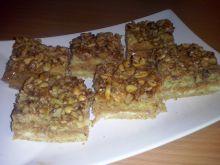 Ciasto orzechowo- karmelowe
