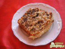 Ciasto orzechowo-marcepanowe