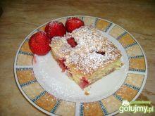 Ciasto owocowe z kruszonką.