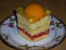 Ciasto owocowo - budyniowe
