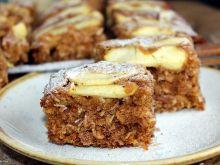 Ciasto owsiano-kokosowe z jabłkami