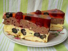 Ciasto-pianka z owocami