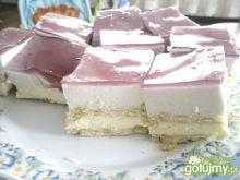 Ciasto piankowe z kremem karpatka