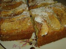 Ciasto piaskowe z jabłkami