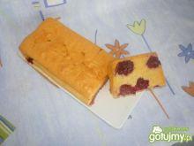 Ciasto piaskowe z jeżynami