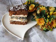 Ciasto piernikowe z bezową wkładką