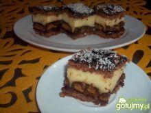 Ciasto piernikowo-budyniowe