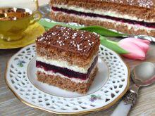 Ciasto piernikowo-porzeczkowe