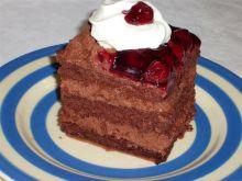 Ciasto pijana wiśnia dla dorosłych