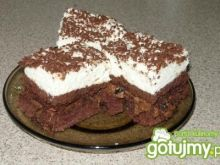 Ciasto Pijana wiśnia  z Nutellą