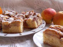 Ciasto pomarańczowe z jabłkami