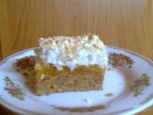 Ciasto pomarańczowo- kokosowe