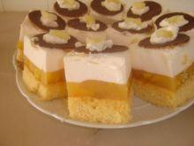 Ciasto pomarańczowo-mandarynkowe za śmie