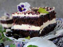 Ciasto porzeczkowo- chałwowe