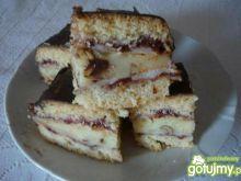 Ciasto przekładane Danusi