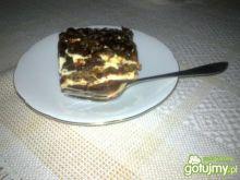 Ciasto przekładane ze śliwkami