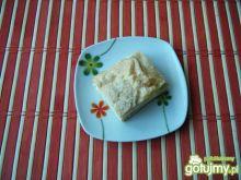 Ciasto ptysiowe z serkiem mascarpone