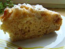Ciasto rabarbarowe z imbirem