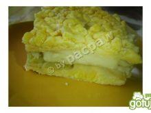 Ciasto rabarbarowe z masą budyniową
