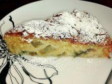 Ciasto rabarbarowe z migdałami