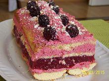 Ciasto Różowa Jeżynka