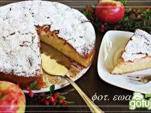 Ciasto ryżowe z jabłkami