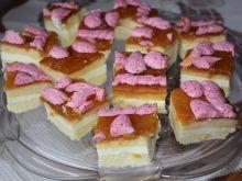 Ciasto serkowe z muszlami