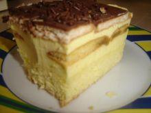Ciasto sernikowe z kawowymi biszkoptami