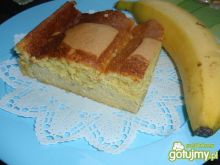 Ciasto serowo bananowe