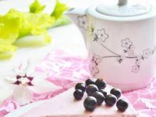 Ciasto serowo-jogurtowe z porzeczkami