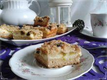 Ciasto serowo-rabarbarowe
