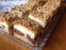 Ciasto serowo-śliwkowe