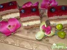 Ciasto serowo winogronowe