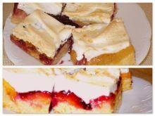Ciasto śliwkowe z brzoskwiniową nutą