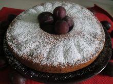 Ciasto śliwkowe z migdałami