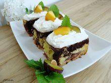 Ciasto śliwkowo-brzoskwiniowe